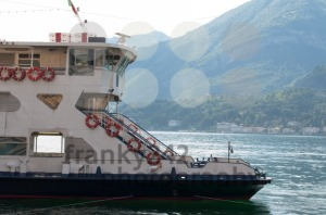 Ferry passing lake Como, Italy - franky242 photography