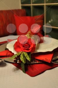 Festive dinner table - franky242 photography