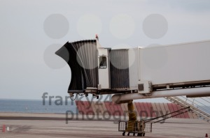 Finger Gate In Airport At The Coast - franky242 photography