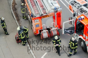 Fire fighters in action - franky242 photography