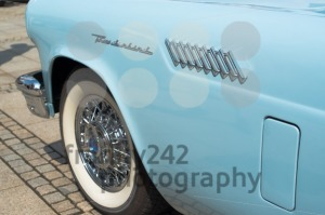 Ford Thunderbird Classic Car Detail - franky242 photography