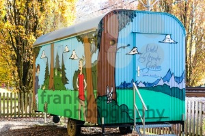 Forest Kindergarten in old trailer - franky242 photography