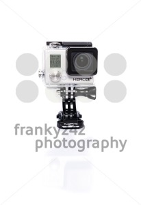 GoPro Hero 3+ Actioncam on white - franky242 photography