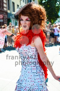 Gorgeous participant of Christopher Street Day - franky242 photography