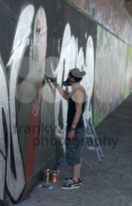 Graffiti Artist - franky242 photography