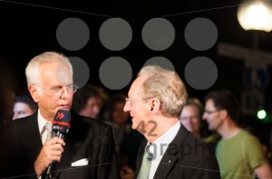 Harald Schmidt interviews Stuttgart Lord Mayor Wolfgang Schuster - franky242 photography