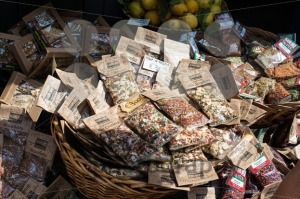 Herbs, spices and lemons for sale - franky242 photography