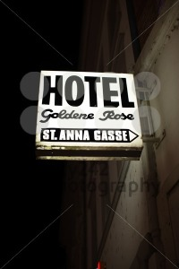 Historic hotel sign - franky242 photography