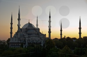 Istanbul-8211-Blue-Mosque-in-Sunset
