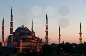 Istanbul-8211-Blue-Mosque-in-Sunset1