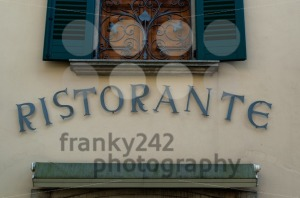 Italian Restaurant sign - franky242 photography