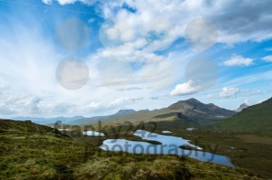 Knockan Crag in the schottish highlands - franky242 photography