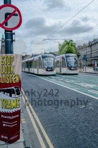 Launch of tram system in Edinburgh - franky242 photography