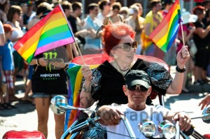Laura participating on Christopher Street Day - franky242 photography