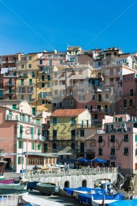 Manarola town at Cinque Terre national park. Italy - franky242 photography