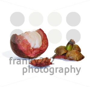 Mangosteen-fruit-on-white