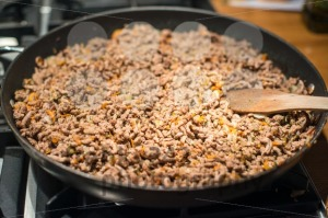 Minced-meat-in-frying-pan