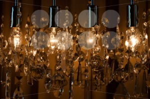 Modern chrystal chandelier - franky242 photography