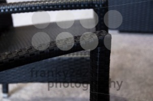 Modern polyrattan garden furniture - franky242 photography