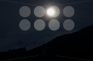 Moon over mountains - franky242 photography
