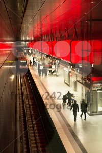 New-Hafencity-station-in-Hamburg