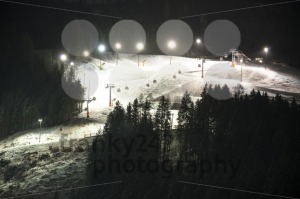 Night skiing - franky242 photography