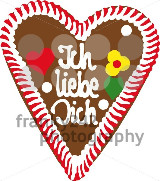 Oktoberfest-Gingerbread-Heart
