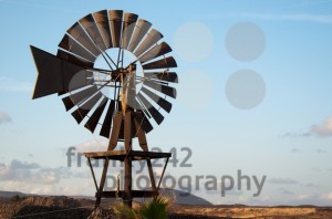 Old Windmill on Lanzarote - franky242 photography