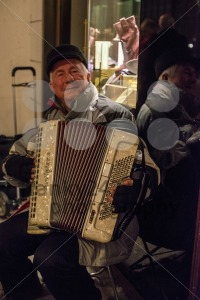 Old man playing the accordion - franky242 photography