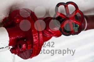 Old-red-plug-valve