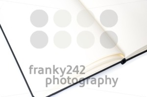 Open notebook with space for your text - franky242 photography