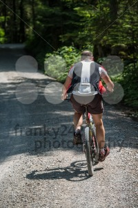 Overweight mountainbiker - franky242 photography