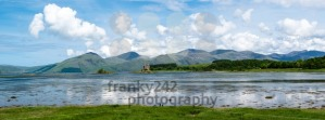 Panorama of Stalker Castle in Scotland - franky242 photography