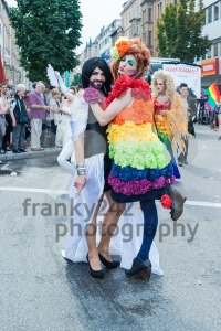 Participants of Christopher Street Day 2014 in Stuttgart, Germany - franky242 photography