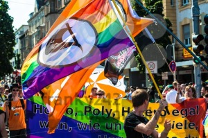 Piraten Partei (pirate party) is participating on Christopher Street Day - franky242 photography