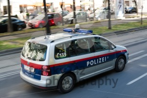 Police car in Vienna - franky242 photography