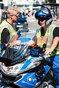 Police during Christopher Street Day - franky242 photography