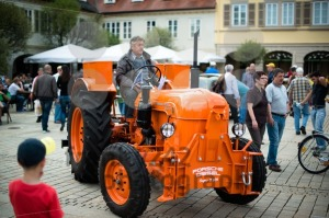 Porsche vintage tractor - franky242 photography