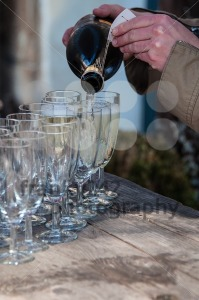 Pouring Champagne - franky242 photography
