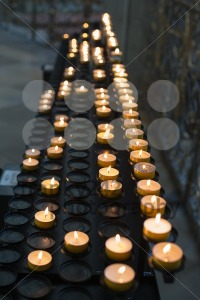 Prayer candles - franky242 photography