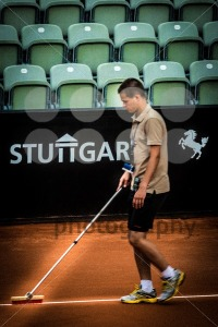 Preparation during ATP Qualification in Stuttgart, Germany - franky242 photography