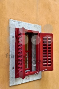 Red-Window-Shutter