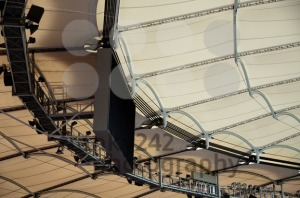 Roof construction of a soccer stadium - franky242 photography