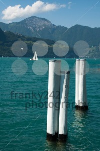 Sailing In Lake Lucerne - franky242 photography