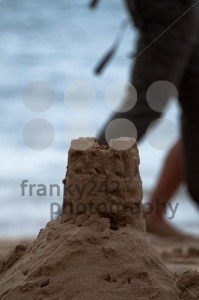 Sand Castle on Costa Teguise Beach, Lanzarote - franky242 photography