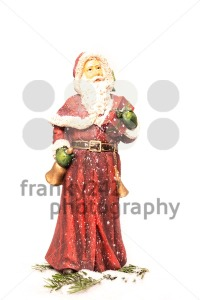 Santa Claus in snow - franky242 photography