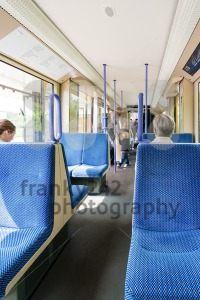 Seats in a tram in Germany - franky242 photography