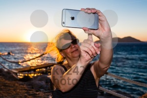 Selfie in sunset - franky242 photography