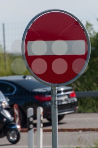 Sign. No Entry - franky242 photography
