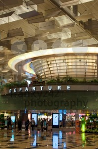 Singapore Airport – Terminal Three Departure Hall - franky242 photography